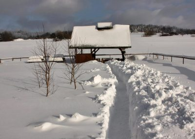 Okolica zimą