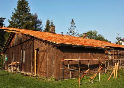 Remont dachu w Zyndranowej