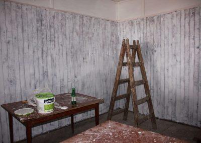 Prace remontowe w małej sali