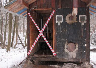 Zamknięta baza namiotowa w Wisłoczku!
