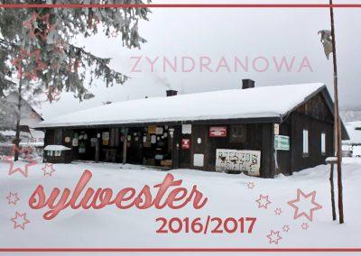 Sylwester 2016/2017 w Zyndranowej