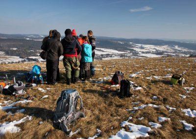 Wyjazd kursowy w Góry Sanocko-Turczańskie